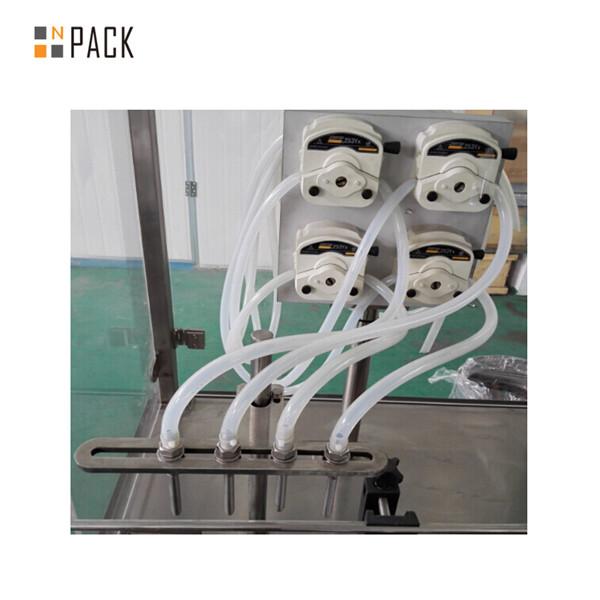 പെരിസ്റ്റാൽറ്റിക് പമ്പ് അവശ്യ ഓയിൽ ഡ്രോപ്പ് ബോട്ടിൽ പൂരിപ്പിക്കൽ പ്ലഗ്ഗിംഗ് ക്യാപ്പിംഗ് മെഷീൻ